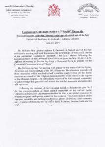 Statement June