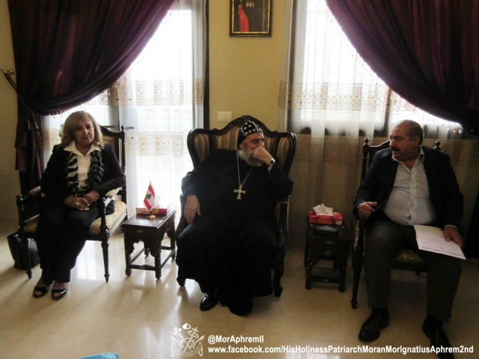 Visit of St. Aphrem Association in Amman