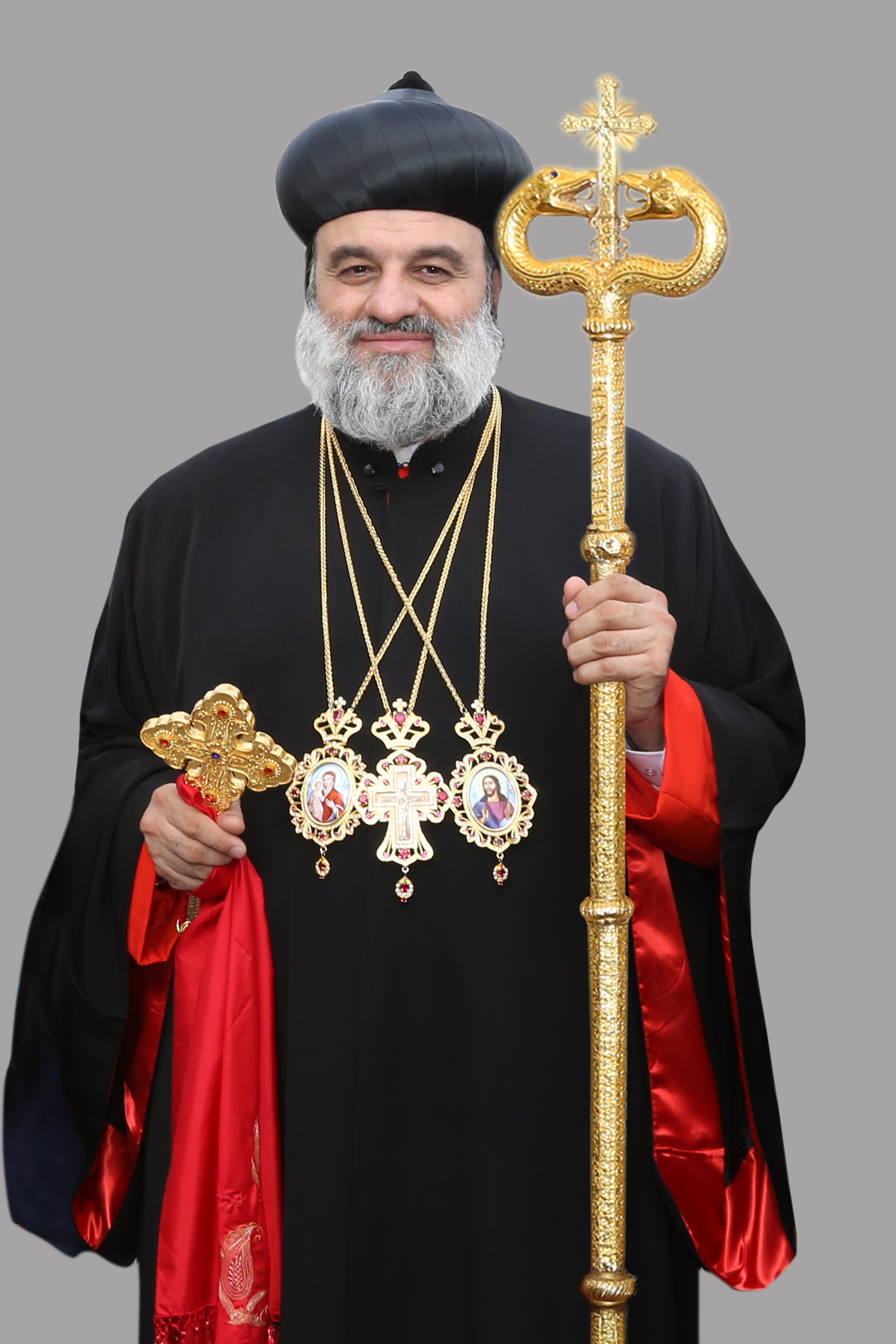 His Holiness Moran Mor Ignatius Aphrem II- Patriarch on the Apostolic Throne of St.Peter in Antioch and All the East & Supreme Head of the Universal Syriac Orthodox Church