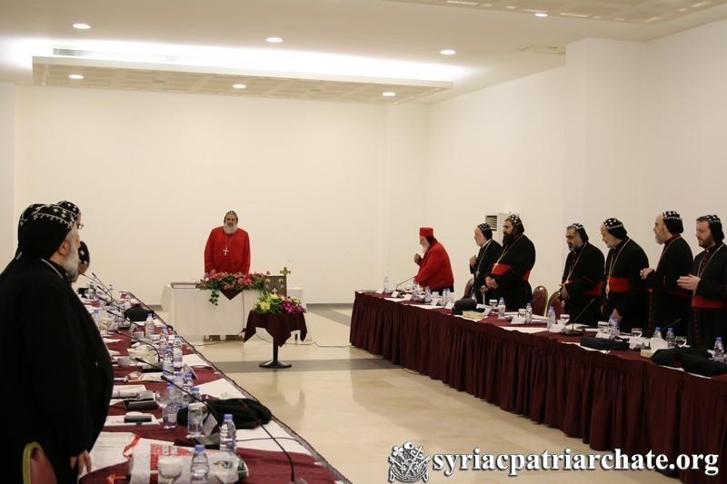 Extraordinary Session of the Syriac Orthodox Holy Synod Begins– Lebanon 2017