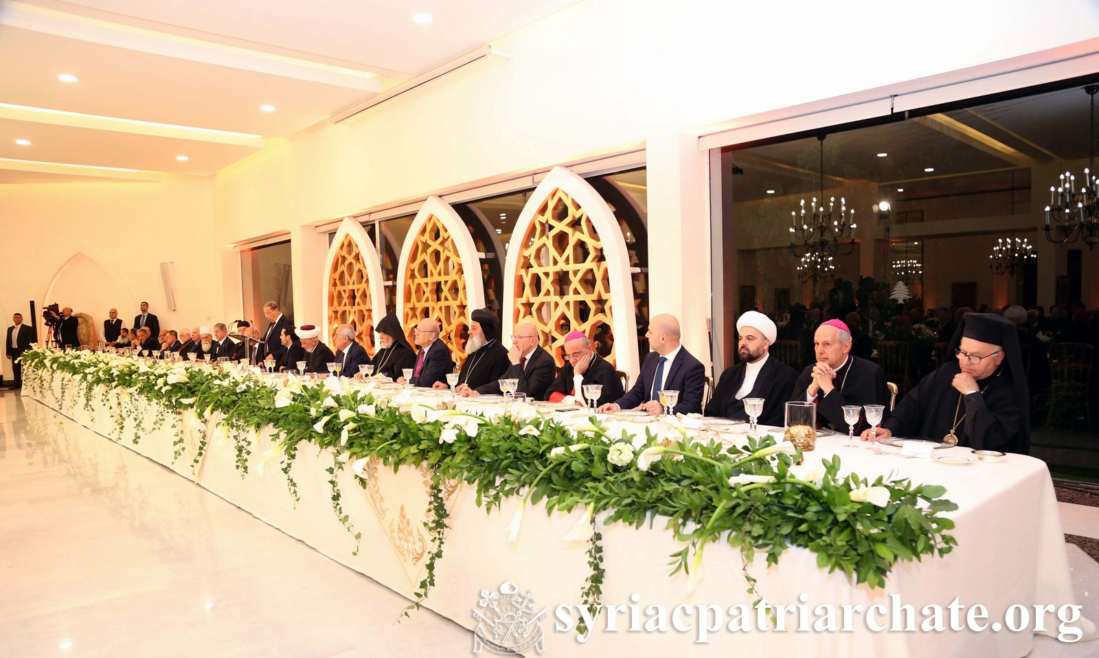 Iftar at the Presidential Palace – Lebanon | Syrian ...